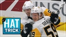 Jake Guentzel leads the way with the hat trick