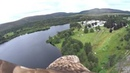 Elite Falconry's White Tailed Sea Eagle flies with Ospreys over Loch Moy