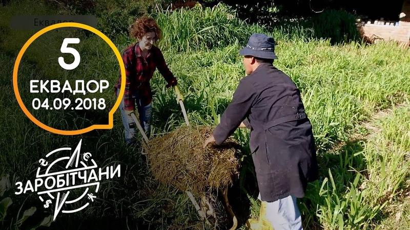Заробітчани - Эквадор - Выпуск 5 - 04.09.2018