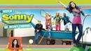 1527-Sonny With A Chance-Disney Spoof Pixar Lamps Luxo Jr Logo