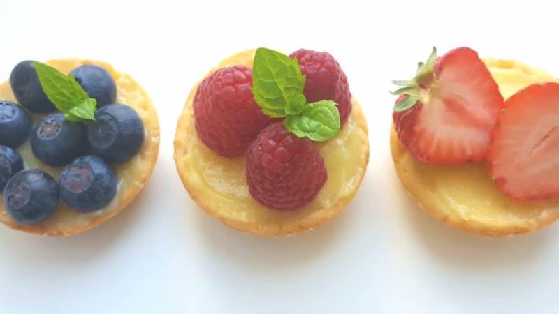ЗАМЕЧАТЕЛЬНЫЕ тарталетки с лимонным курдом | Больше рецептов в группе Десертомания