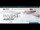 ПЛАТИТ. ВЫВОД СРЕДСТВ. хайп проекты invest-aurum и companybest