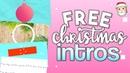 Christmas Intro Templates Pack | iEditingX