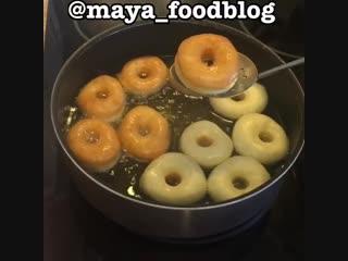 Простой рецепт пончиков