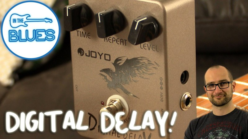 Joyo Digital Delay Pedal Demo