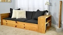 DIY Sofa Bed / Turn this sofa into a BED
