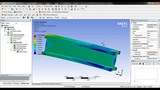 fatigue (FoS) Analysis of I beam in Ansys workbench Ansys tutorial