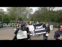 LIVE Assange's supporters protest outside Belmarsh prison where he is being held