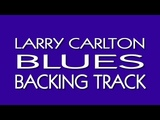 Larry Carlton Blues Backing Track in A