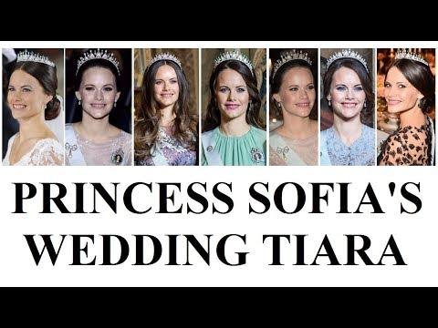 On her 3rd Wedding Anniversary take a look at: PRINCESS SOFIA WEDDING TIARA