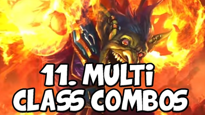 11 Multi Class Combos - No Class Restriction Combos [Hearthstone]