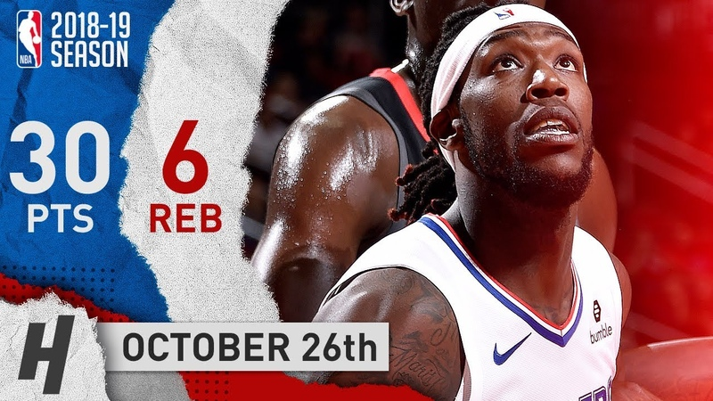 Montrezl Harrell Full Highlights Clippers vs Rockets 2018.10.26 - 30 Pts off the Bench!