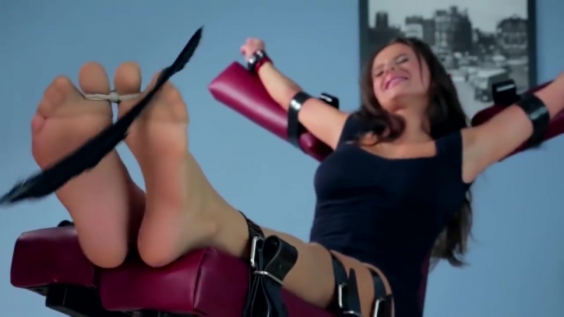 Tickling Submission - Tied tickle toes Harem