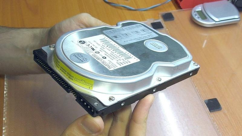 Ремонт жёсткого диска и восстановление информации Fujitsu MPF3102AT (IDE)
