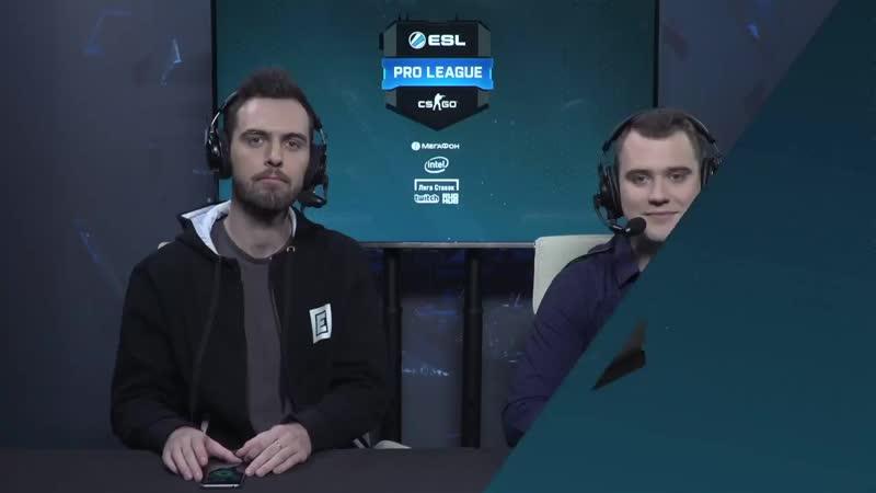 [CSRuHub] NiP vs FaZe - ESL Pro League S8 EU - bo1 - de_mirage [Mintgod, Gromjke]