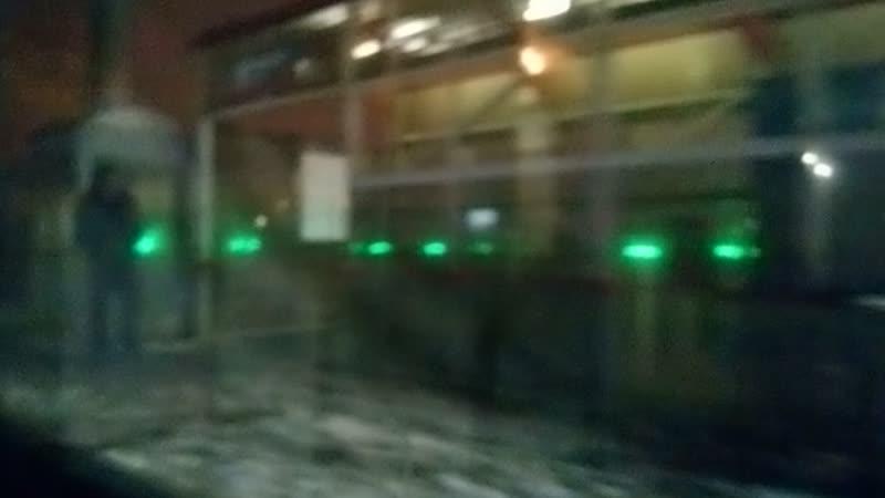 Перегон Бутово - Красный строитель, Курській напрямок, ЕР2К-1200, Тула-1 Курская - Каланчёвская, послед. эл-ка!