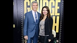 Michael Buffer and his wife Christine Buffer