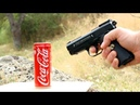 EXPERIMENT AIR GUN vs COCA COLA Just for Fun