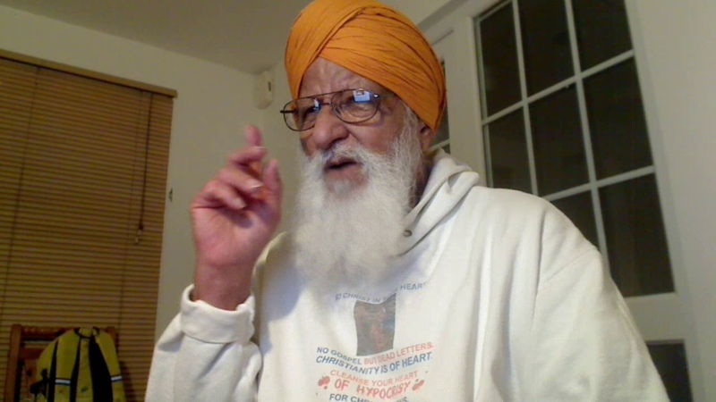 Punjabi - Christ Amar Dev Ji, destroyer of doubts Says our Father looks after all your affairs.