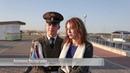 В Спутнике влюбленный курсант на вороном коне сделал предложение своей избраннице