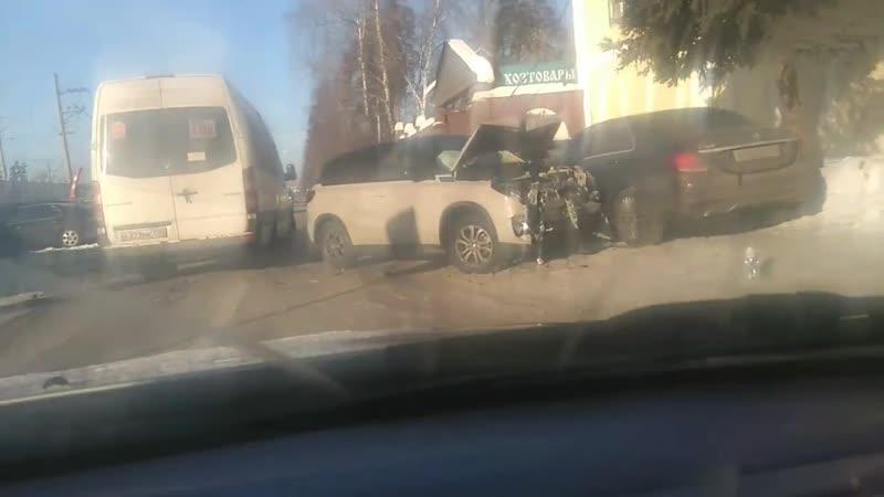 Сильное ДТП возле ст. Ильинская