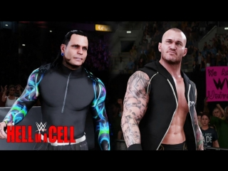 WWE QTVHell In A Cell 2018Jeff Hardy vs Randy OrtonРэнди Ортон против Джеффа ХардиWWE 2K18