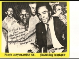 Sugar Ray Leonard vs Floyd Mayweather Sr