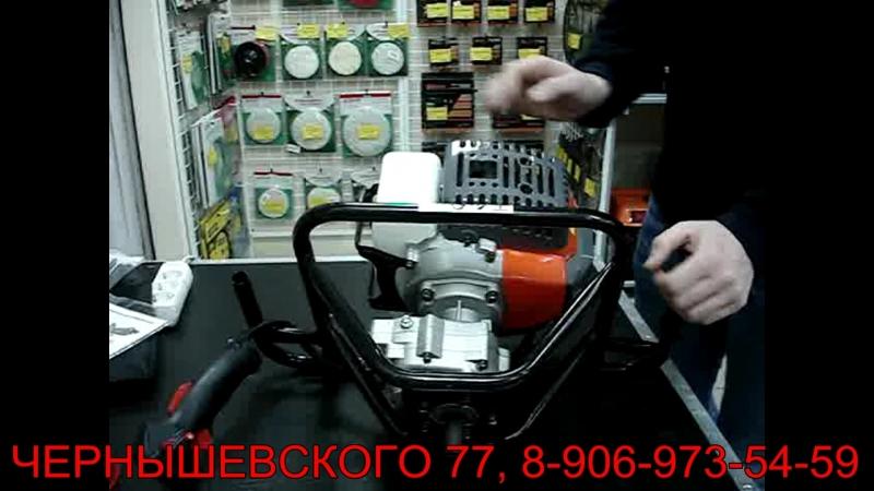 Мотобур HAMMER FLEX MTB80 для строительства и рыбалки