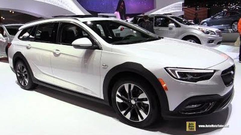 2018 Buick Regal Tour X Wagon - Exterior and Interior Walkaround - 2018 Detroit Auto Show
