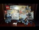 Lego Star Wars Microfighters Series 5 Ski Speeder VS First Order Walker 75195 Review