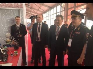Виталий Шулика посетил I Международный форум Неделя национальной безопасности