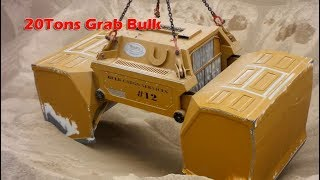 WTF!! 20T Grab Unloading Ship - Massive Largest Bucket In the World