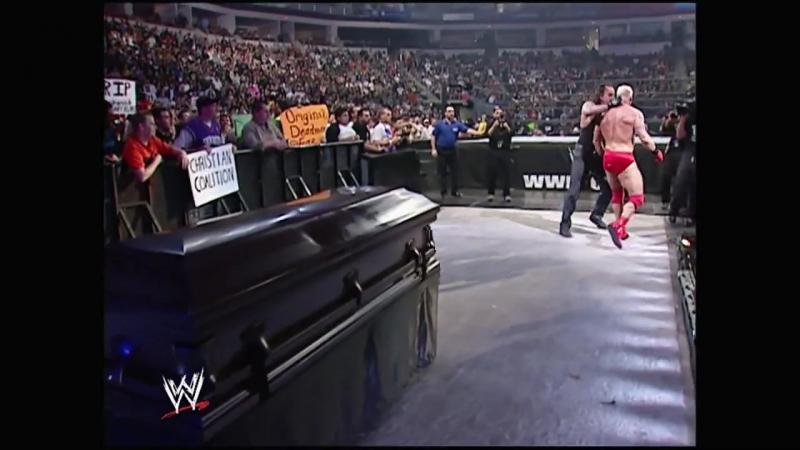 Гробовщик пр. Хейденрейх Casket Match Royal Rumble 2005