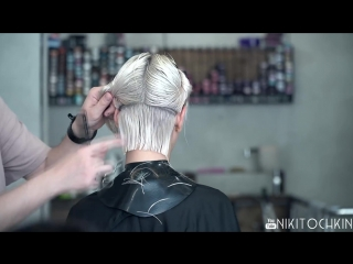 how to cut hair after dying fail