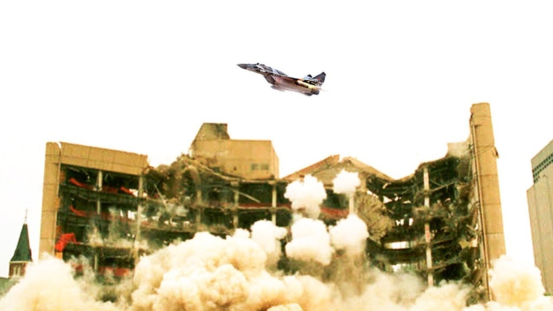 Уничтожение американского разведцентра в Сирии.