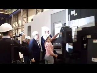 На ЭЗТМ запущен в эксплуатацию уникальный станок ЧПУ