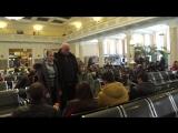 Флэшмоб - Новосибирцы в поддержку жителей Донбасса
