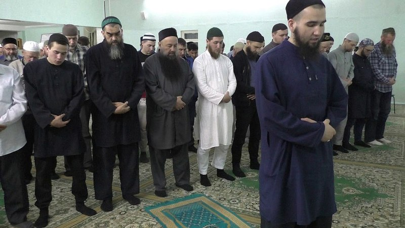 Таравих намаз в Ак мечети