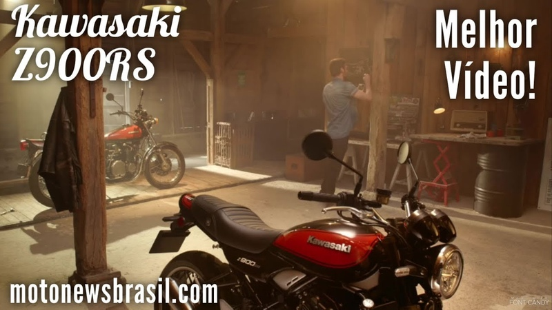 NOVA Kawasaki Z900RS 2019 - Melhor Vídeo já Feito!