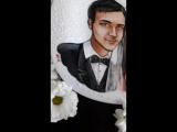 Свадебная тарелочка для Даши и Александра