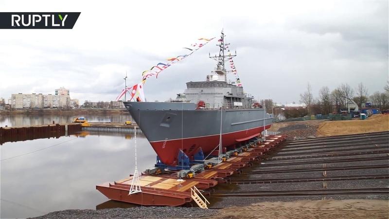 В Санкт Петербурге спущен на воду корабль Иван Антонов