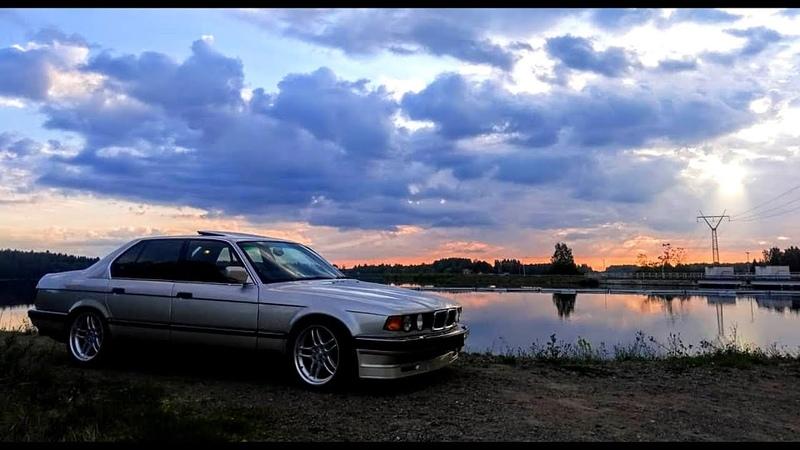 BMW 7 E23 and BMW 7 E32