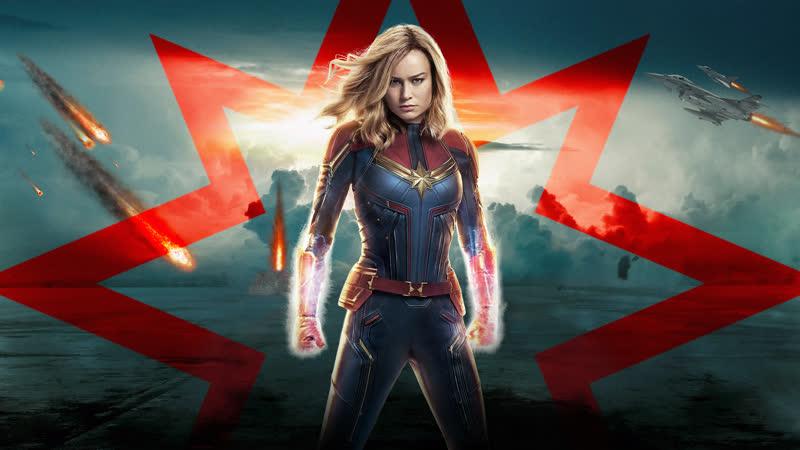 Капитан Марвел тв-спот в кино с 7 марта