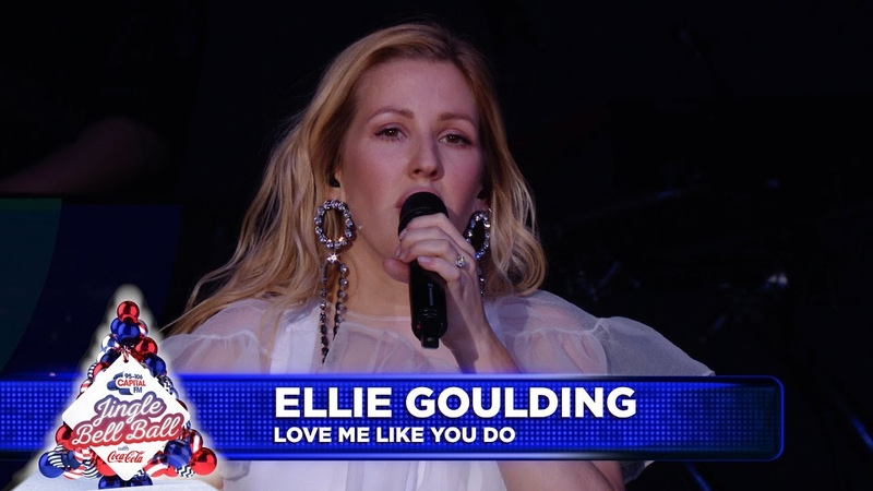Ellie Goulding 'Love Me Like You Do' Live at Capital's Jingle Bell Ball 2018
