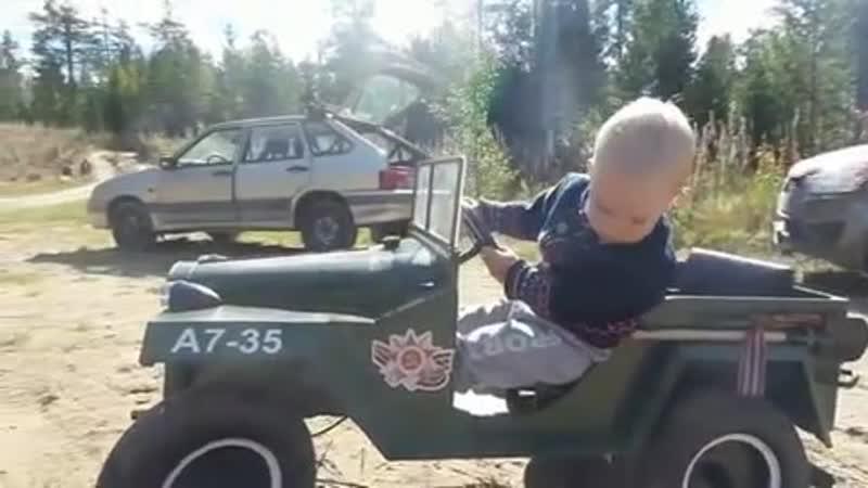 Сделал сыну авто своими руками