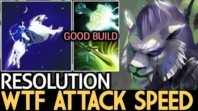 Resolution [Mirana] WTF Attack Speed 7.17 Dota 2