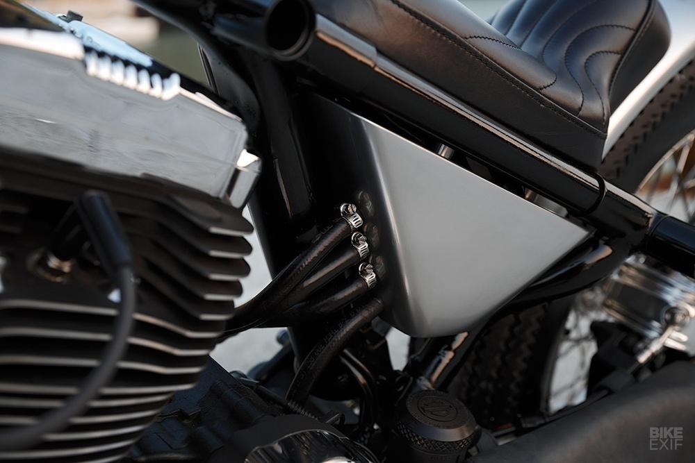 2LOUD: боббер Harley-Davidson Sportster XL1200
