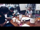 День 3 (2-я смена) в творческом лагере. Сегодня у нас было занятие по живописи. Мы росписали себе классные чашки для чая. Творч
