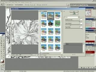 013. Создание акварельного рисунка из фотографии