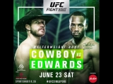#UFCSingapore Cerrone vs. Edwards